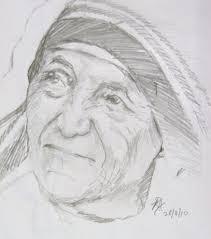 mother teresa dp art