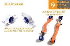 lexus ls430 lowering springs rc f rc350 3is 4gs essential kit for lowering