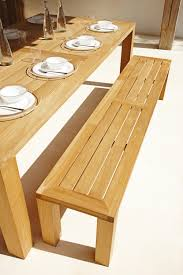 square 131cm backless bench garden benches from gloster
