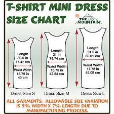 the mountain t shirt size guide u0026 information