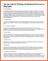 biography exle yourself collection of a sle personal biography writing a bio 9 short