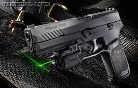 sig sauer laser light combo sig sauer p320 9mm pistol gun test video