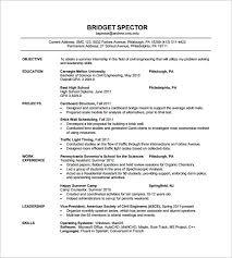 Best Resume For Mechanical Engineer Fresher by Resume Examples For Engineers Mechanical Engineering Resume