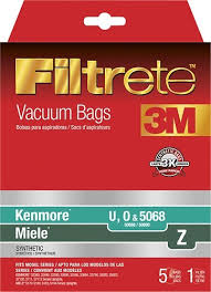 Miele Vaccum Bags 3m Filtrete Hepa Vacuum Bag For Select Kenmore And Miele Upright