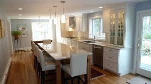 narrow kitchen designs long kitchen design layout 40konline club