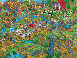 Jigsaw Puzzles Tables Farm To Table Jigsaw Puzzle Puzzlewarehouse Com