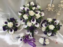 Purple Lillies Rose U0026 Large Calla Lily Range U2013 Groovyruby Ltd