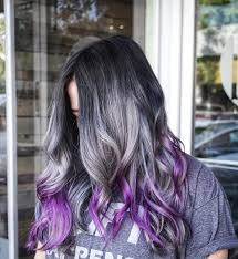 trendy grey hair 25 cool black and grey hair color ideas that are trendy now