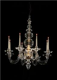 Georgian Chandeliers An 8 Light Georgian Style Chandelier With No Cutting On Any
