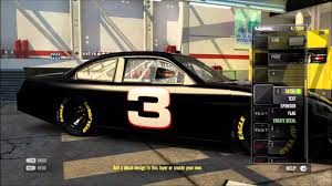 game design your own car nascar the game 2011 paint booth youtube