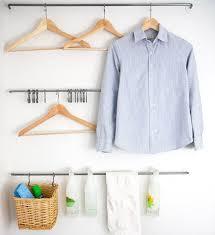 Laundry Room Hangers - 15 organizational hacks that u0027ll make you like doing laundry brit