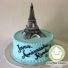 stuffed cakes viva la france eiffel tower cake