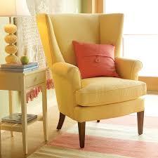 Wingback Armchair Uk Chairs Glamorous Yellow Living Room Chairs Yellow Living Room