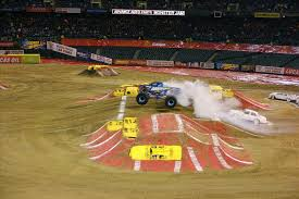 monster truck jam las vegas atamu monster truck race track jam win fuels internet startup