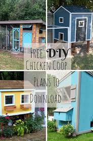 17 amazing free diy chicken coop plans to download