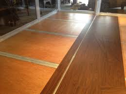 eco friendly lightweight high strength wood composite flooring