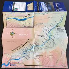 Bitterroot Mountains Map Fishing Maps Of Montana 8 Maps Of 13 Rivers