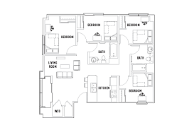 Icon Floor Plan Floor Plans Icon Plaza Student Housing Los Angeles Ca