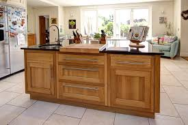 kitchen island oak kitchen island the hatchery kitchens within islands oak plan 4