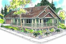 Craftsman Plans by Country Craftsman Home With 3 Bedrms 1265 Sq Ft Plan 108 1660