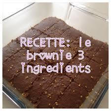 3 recette de cuisine recette le brownie au nutella 3 ingrédients