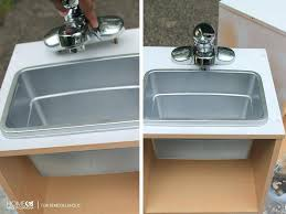 Kitchen Sink Play Cheap Kitchen Sink Faucets Or Cheap And Easy Play Sink For A