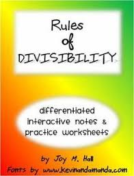 kind of a funny divisibility rules math lesson video kids may