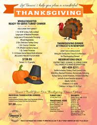 where to go for thanksgiving dinner tinucci u0027s restaurant deli catering st paul minneapolis