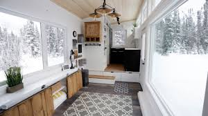 open concept modern tiny house with elevator bed image on amusing