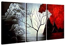 Amazoncom Home Art Abstract Art Giclee Canvas Prints Modern - Dining room paintings