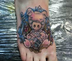 pig tattoo chris hatch tattoo artist www inkpottattoo com u2026 flickr