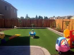 Desert Backyard Landscaping Ideas Plastic Grass Desert Edge California Backyard Playground