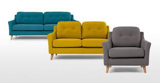 canap jaune moutarde mustard sofa modest design rufus un canape 2 places jaune moutarde