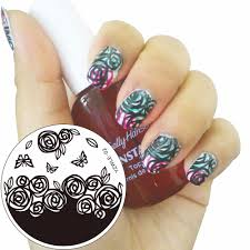 online get cheap nail stencil stamp aliexpress com alibaba group