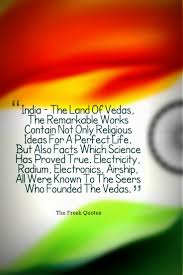 india the land of vedas the remarkable works contain not only