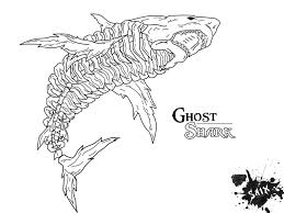 grey reef shark coloring pages hellokids com shark coloring pages