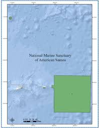 American Samoa Map Geographic Information System Data Office Of National Marine