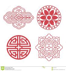 Korean Design Korean Traditional Design Elements Stock Vector Image 87393370
