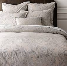 Paisley Single Duvet Cover Dyed Percale Paisley Duvet Cover