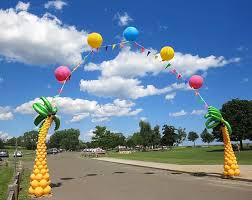 outdoor balloon designs great event decorations