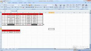 how to apply a formula to multiple rows and columns with excel