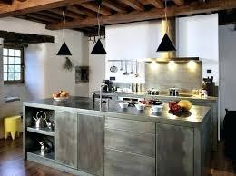 plan de travail cuisine en zinc plan de travail cuisine en zinc cuisine plan travail cuisine avec