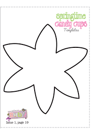 flower petal template for kids free download clip art free