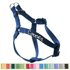 webbing personalized harness 18 colors