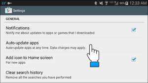 android disable auto update how to disable automatic app updates in android tips general news