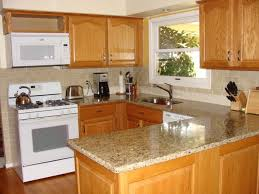 Paint Color Ideas For Kitchen With Oak Cabinets Wall Paint Colors For Small Kitchens With Tiles Backsplash