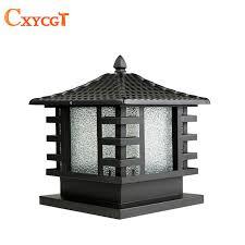 Light Fixture Outdoor Outdoor Black Copper Porch L Wall L Gate L Light Fixture