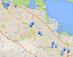 Bay Area Map To Expand Bike Share On The Peninsula Cities Will Have To Support