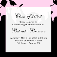 graduation invite graduation announcement fonts