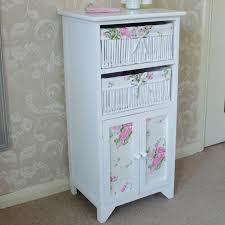 38 white wicker bathroom storage eden 2 drawer wicker heart